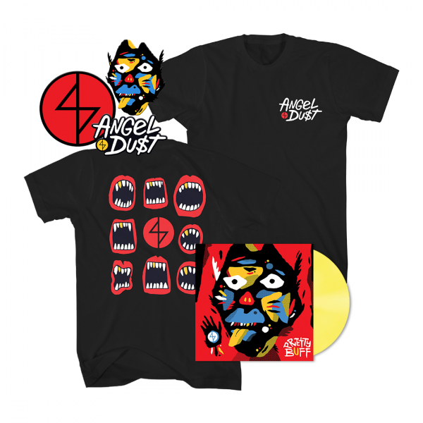 Pretty Buff T-Shirt Vinyl Bundle