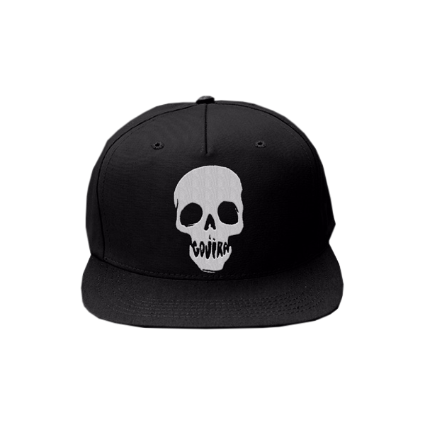 36cf3e2e5e6 Mouth Skull Snapback Hat