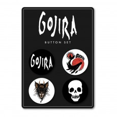 Gojira | Button Pack