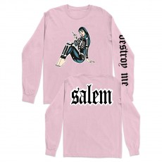 Salem Pink Long Sleeve T-Shirt
