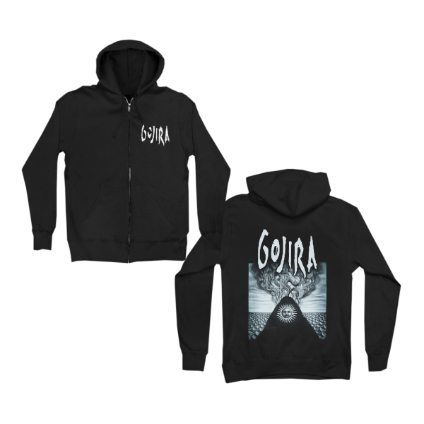 Gojira Elements Zip Up Hoodie
