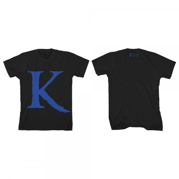 king 810 Big K Blue T-Shirt