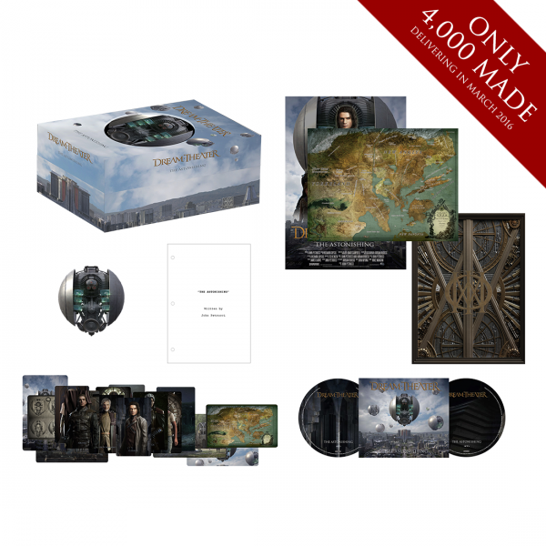 Dream Theater The Astonishing Limited Edition Deluxe Box Set
