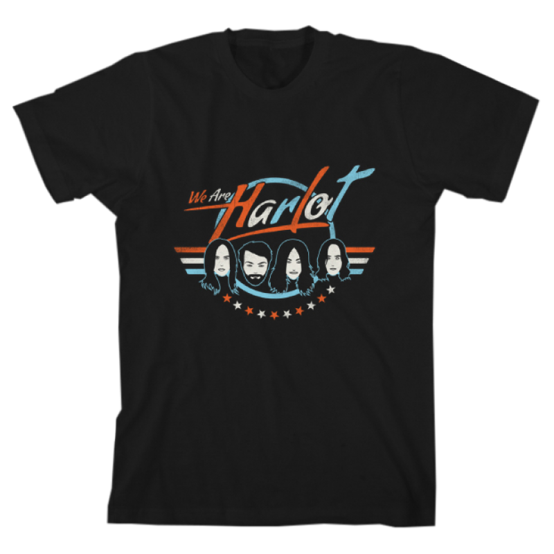 We Are Harlot Line Up T-Shirt