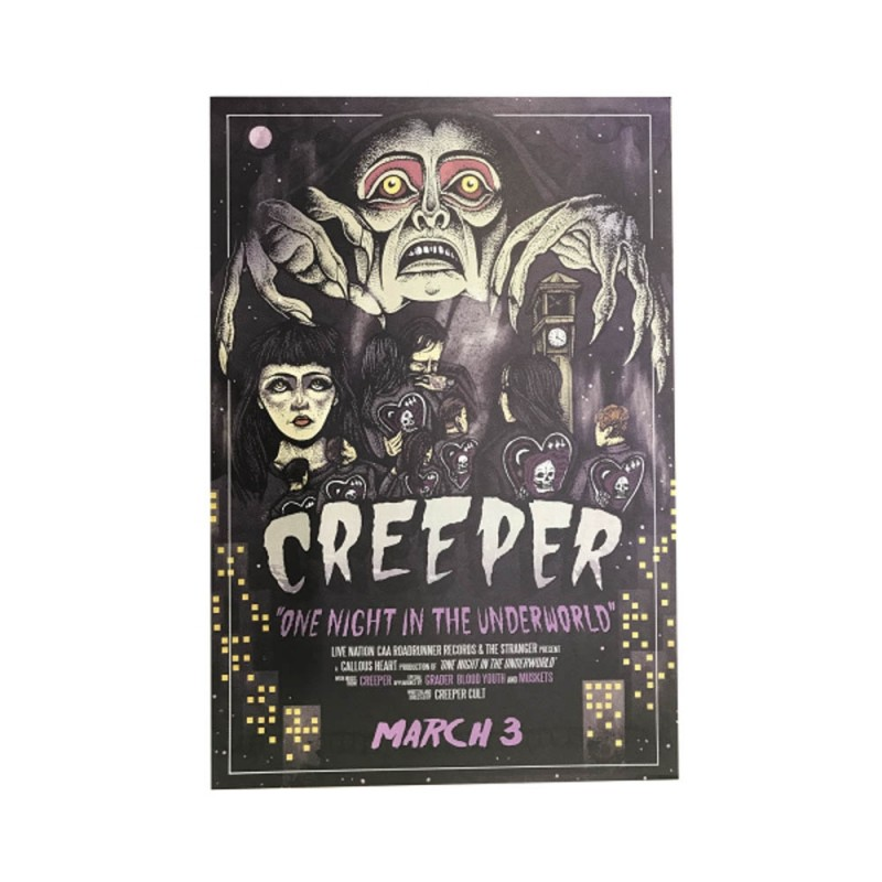 Creeper One Night In The Underworld Poster