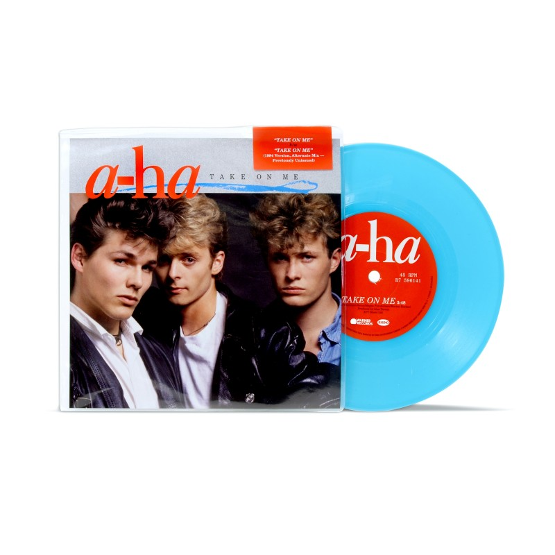 "Take On Me (7"" Blue Vinyl) (Default)"
