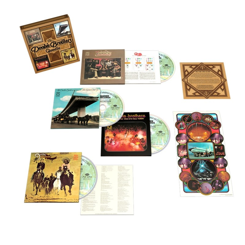 The Doobie Brothers: Quadio Boxed Set (Default)