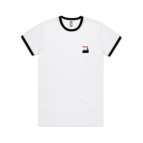 Pocket Emblem Ringer T-Shirt