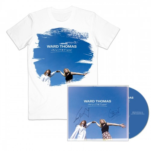 Invitation CD + T-Shirt Bundle (SIGNED)