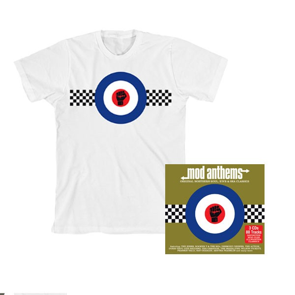 Mod Anthems with White T-Shirt Bundle