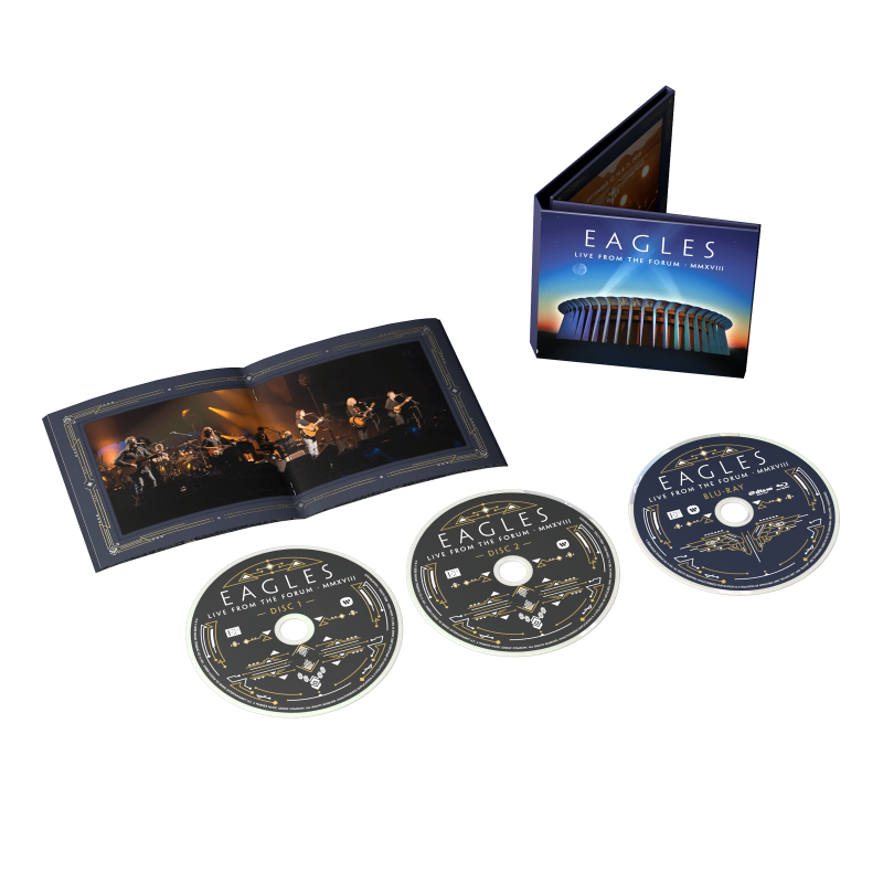 Live From The Forum MMXVIII 2CD/Blu-ray (Default)