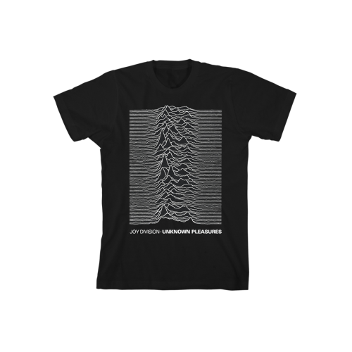 Unknown Pleasures Black T-Shirt