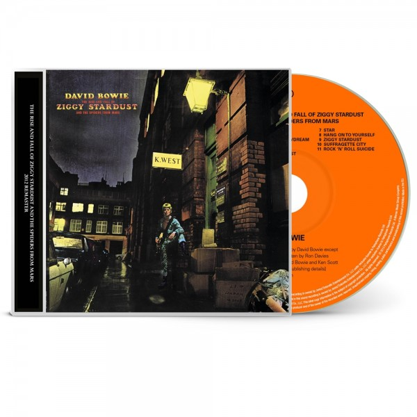 David Bowie | The Rise and Fall of Ziggy Stardust and the Spiders from Mars (1CD)