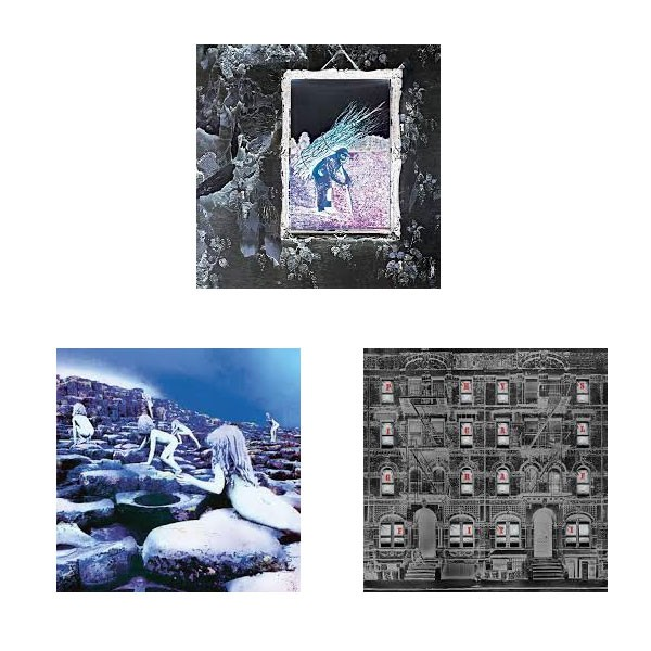 Led Zeppelin IV, Houses of the Holy and Physical Graffiti (Remastered HD Digital Audio)