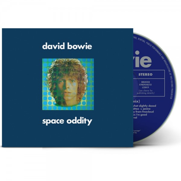 David Bowie (aka Space Oddity) (2019 Mix 1CD)