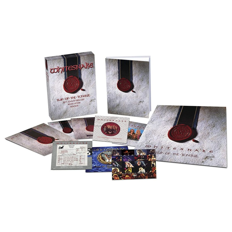 Slip of the Tongue (Super Deluxe Edition - 2019 Remaster) [6CD/1DVD]