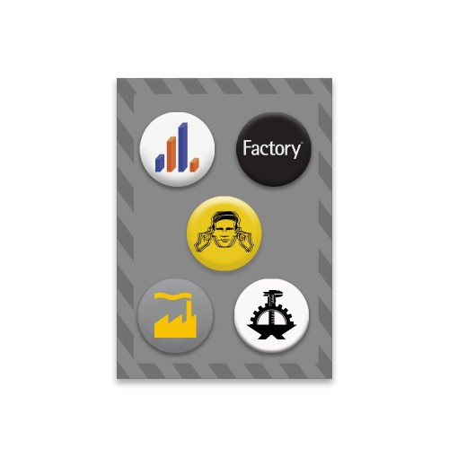 Factory Badge Set