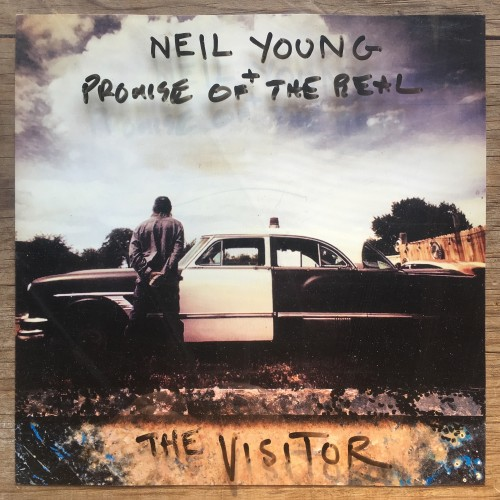 Neil Young The Visitor Vinyl Album