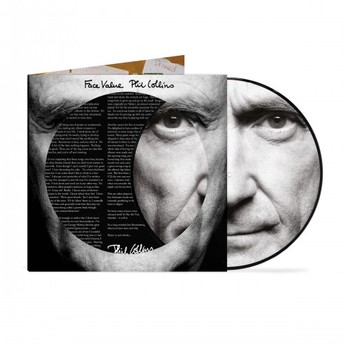 Face Value (40 Year Anniversary Picture Disc) [1LP]