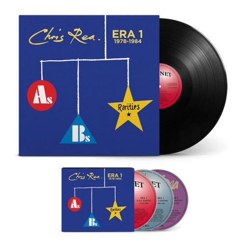 ERA 1 (As, Bs & Rarities 1978 - 1984) [1LP + 3CD Bundle]