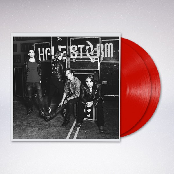 Into The Wild Life Red Vinyl