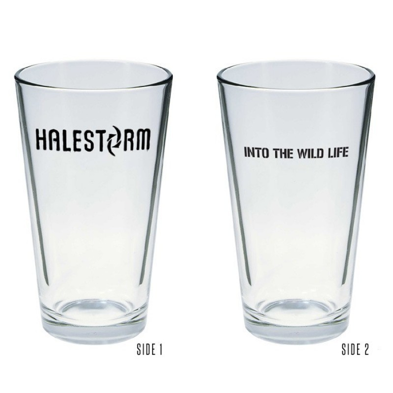 Halestorm Into The Wild Life Pint Glass