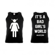 Black Devil Girl tank top