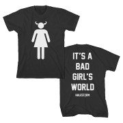 Devil Girl Women's Day T-Shirt - Halestorm Clothing and Merchandise