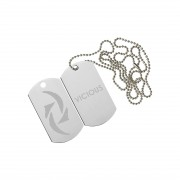 Halestorm - Dog Tag Necklace - Halestorrm band merch