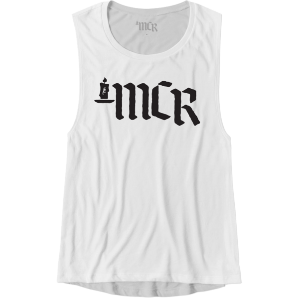 Candle Logo Womens Muscle Tank