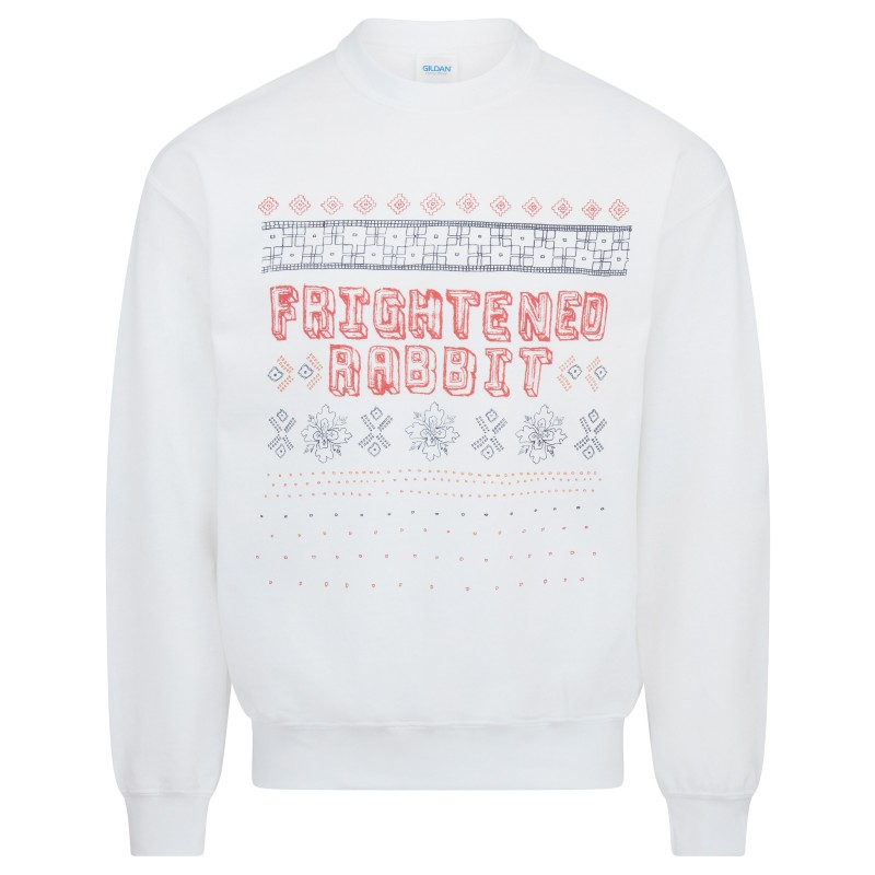 It's Christmas So We'll Stop White Sweatshirt