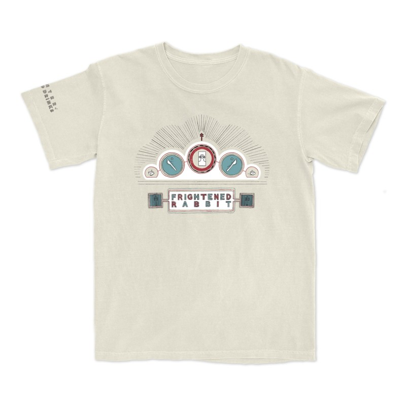 Winter of Mixed Drinks Anniversary Album Cover T-Shirt Cream