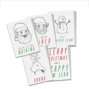 Christmisery - 5 Christmas Cards Pack