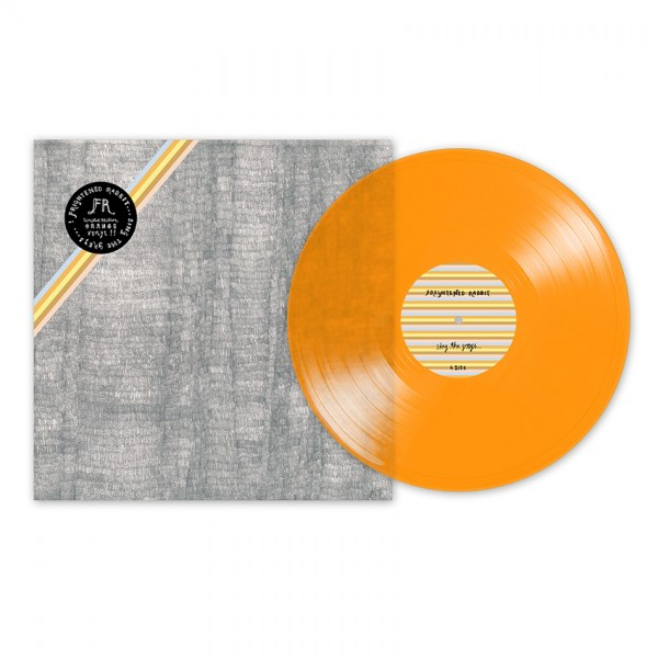 Sing The Greys: Limited Edition Orange Vinyl (front)