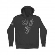 The Midnight Organ Fight Anniversary Grey Hoodie (Apparel)