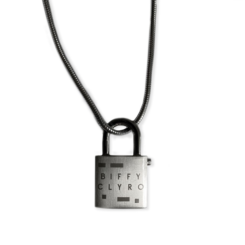 Logo Padlock Necklace (Numbered Ltd Edition)