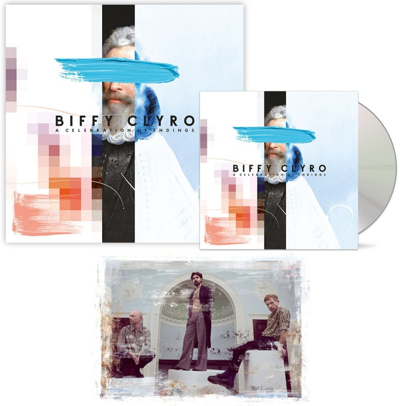 A Celebration of Endings Collector's Edition + CD + Signed Art Card