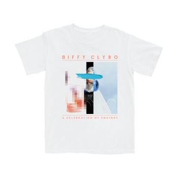 A Celebration of Endings White T-Shirt
