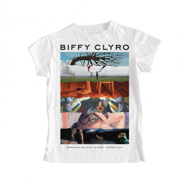 Biffy Clyro Album Rip Ladies T-Shirt