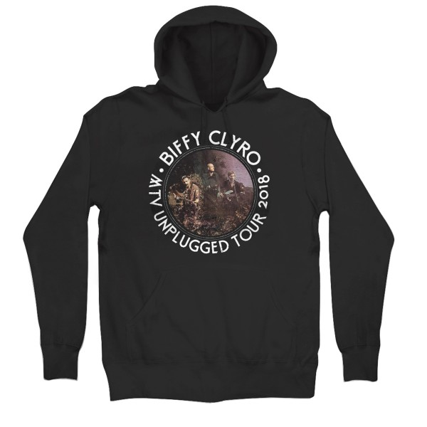 Unplugged Tour Hoodie Black