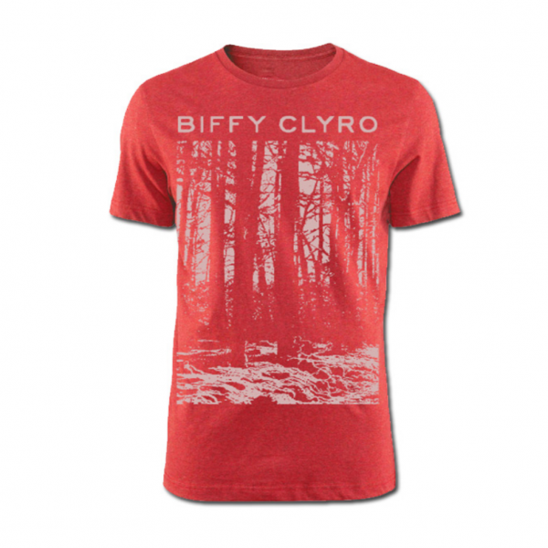 Biffy Clyro Red Tree T-Shirt