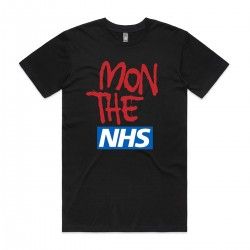 Mon The NHS Black T-Shirt