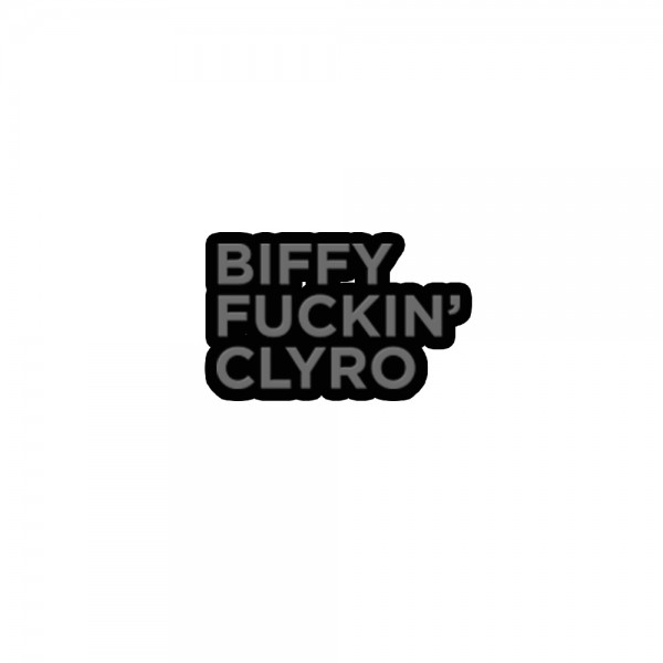 Biffy Fuckin' Clyro Enamel Pin Badge