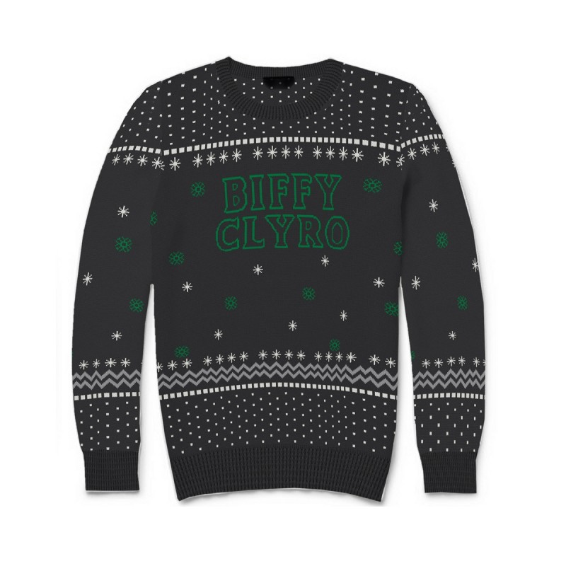 Biffy Clyro Logo Knitted Christmas Jumper