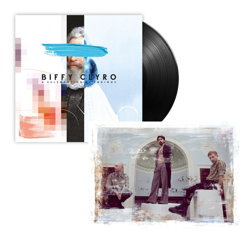 A Celebration of Endings Vinyl + Signed Art Card