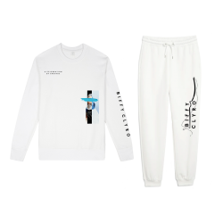Biffy Tracksuit Set White