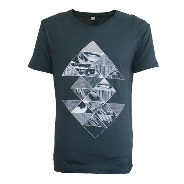 Mens Eye Pyramid Slim Fit T-Shirt