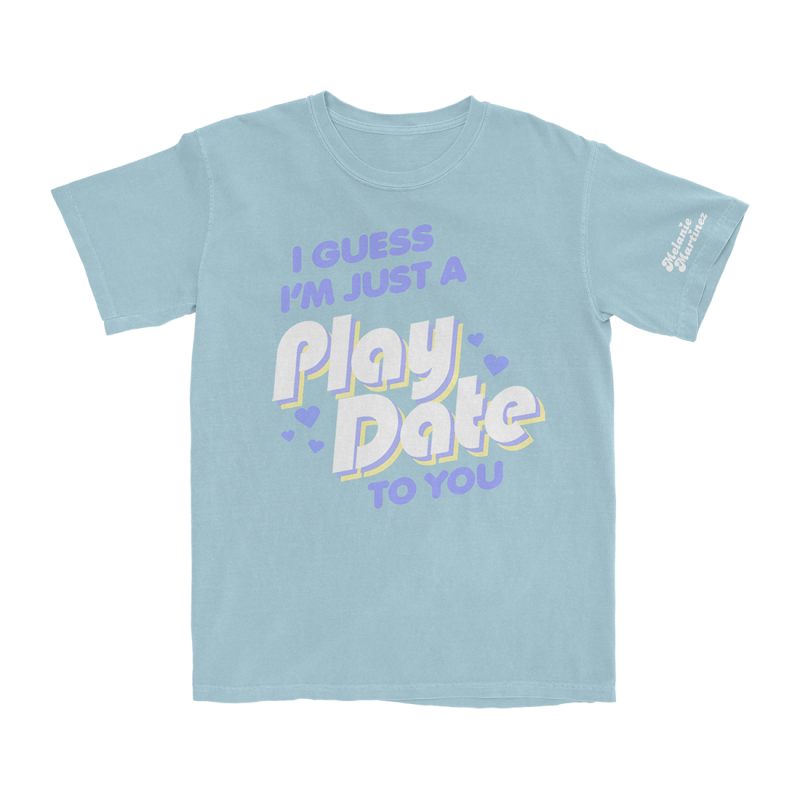 Play Date (Baby Blue) T-Shirt (Apparel)