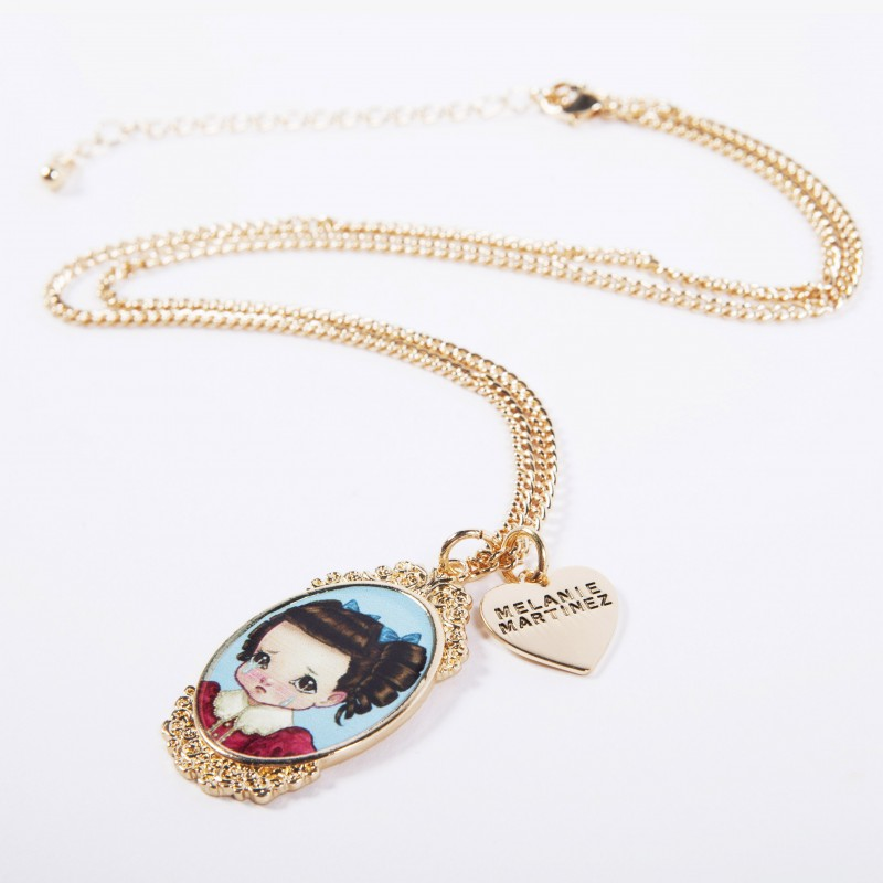 Crybaby Cameo Necklace