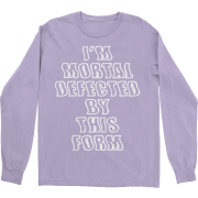 Test Me Purple Long Sleeve TShirt